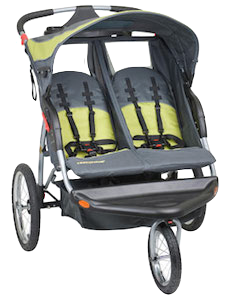 double twin jogging strollers